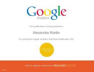 Google-Analytics-Certificat